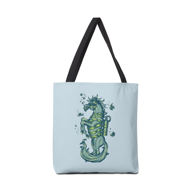 Seahorse Accessories Bag by Toxic Onion