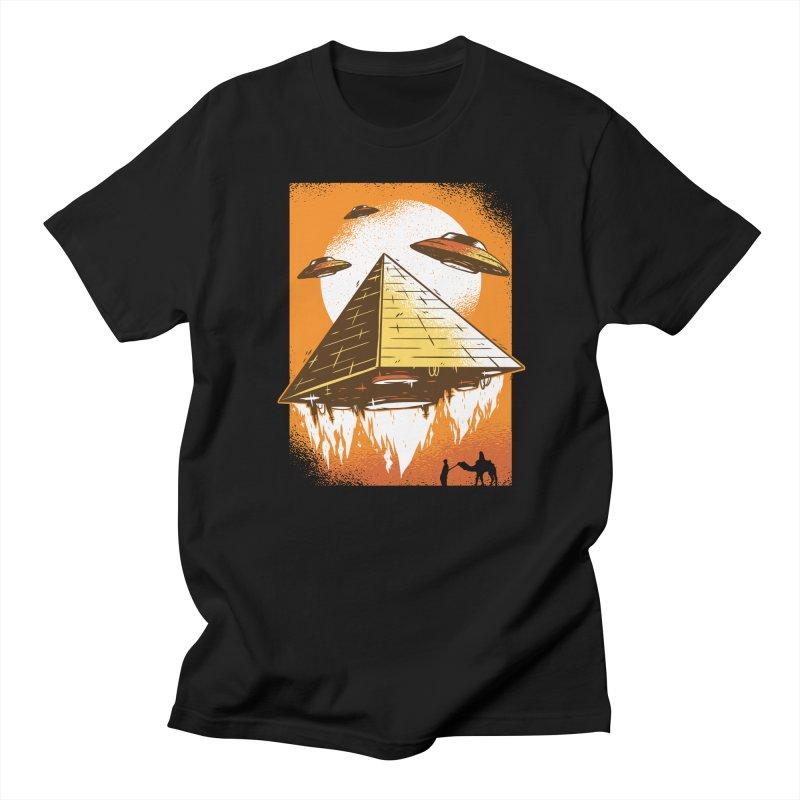Pyramid Launch Men's T-Shirt by Toxic Onion