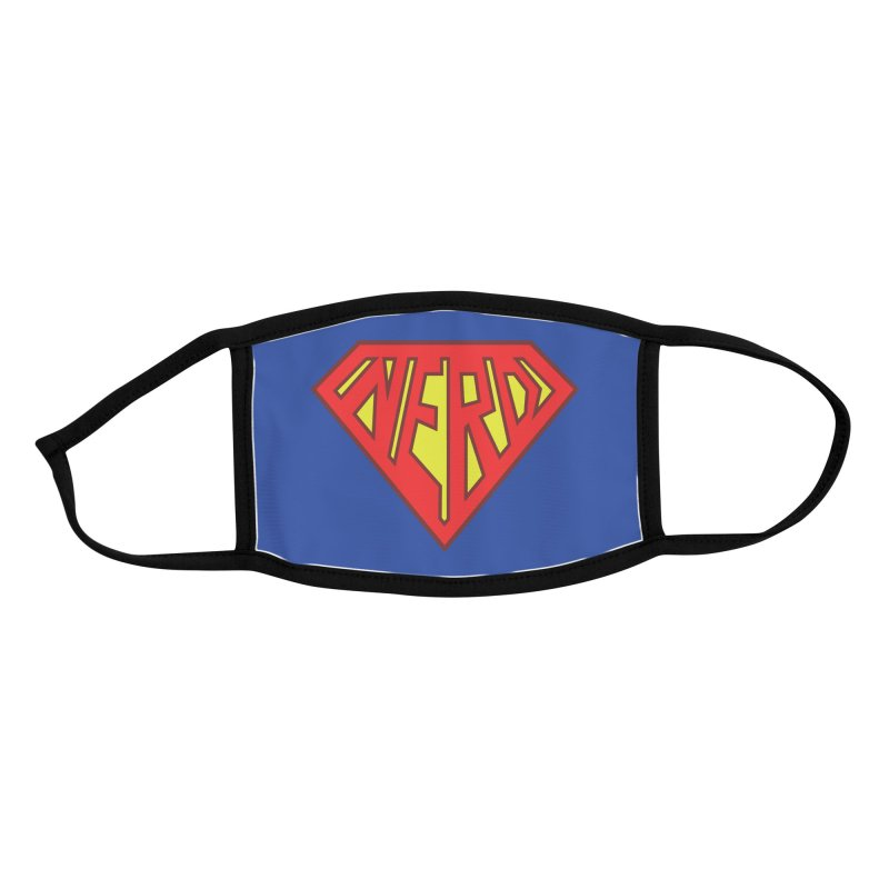 Super Nerd Accessories Face Mask by Toxic Onion