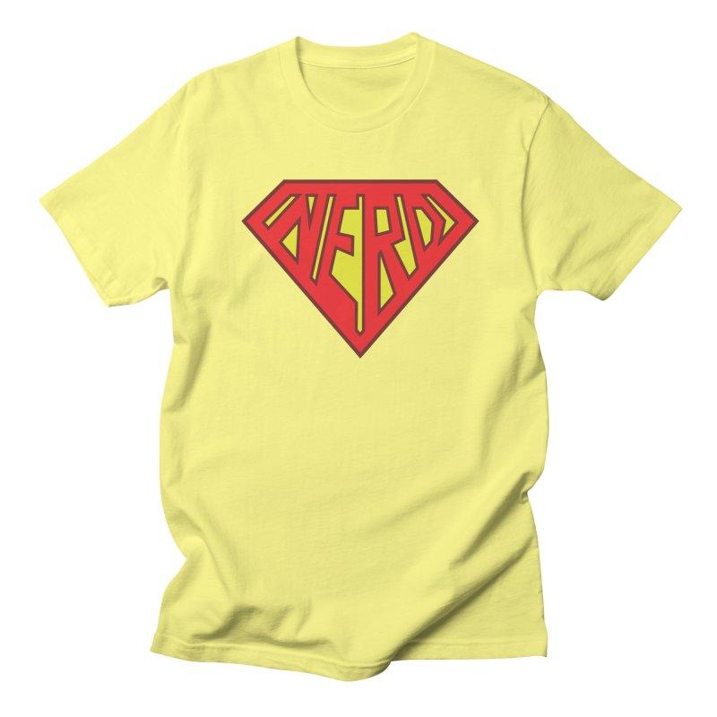 Super Nerd Men's T-Shirt by Toxic Onion