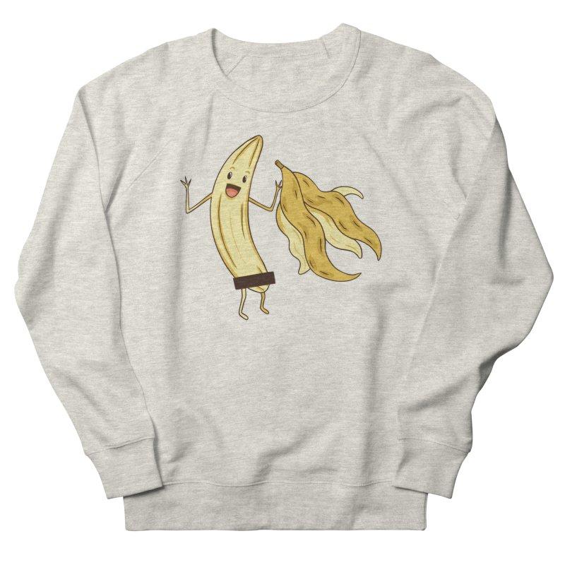 Naked Banana Men's Sweatshirt by Toxic Onion - A Popular Ventures Company