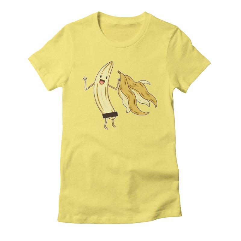 Naked Banana Women's T-Shirt by Toxic Onion - A Popular Ventures Company
