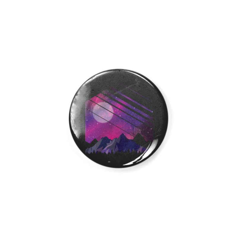 Mountain Galaxy Accessories Button by Toxic Onion