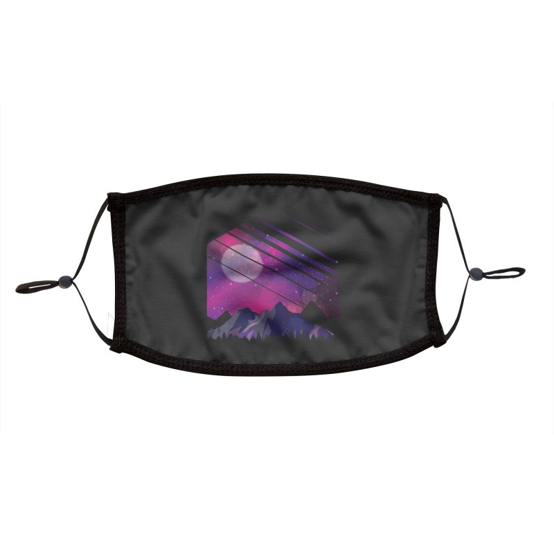Mountain Galaxy Accessories Face Mask by Toxic Onion - A Popular Ventures Company