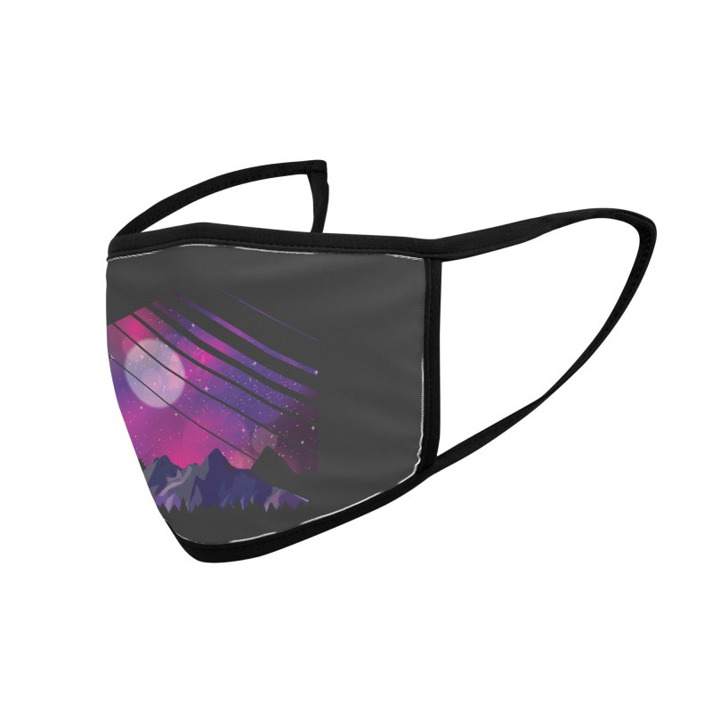 Mountain Galaxy Accessories Face Mask by Toxic Onion