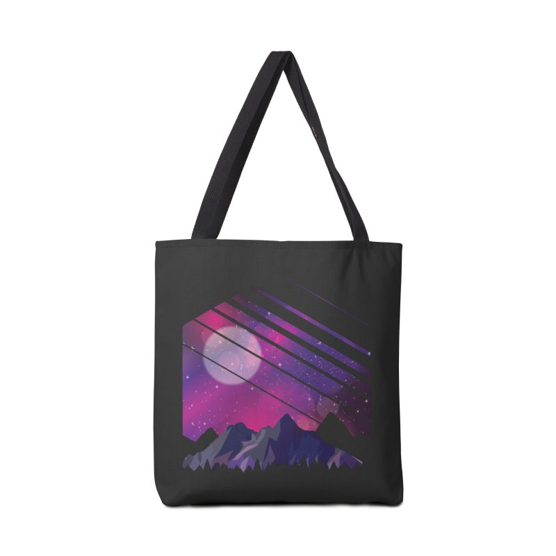 Mountain Galaxy Accessories Bag by Toxic Onion