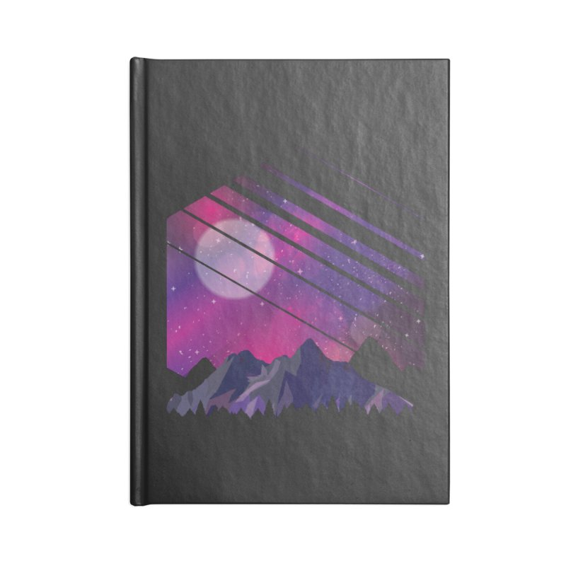 Mountain Galaxy Accessories Notebook by Toxic Onion