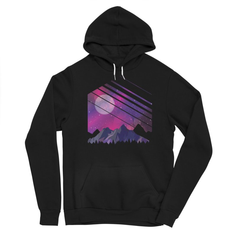 Mountain Galaxy Men's Pullover Hoody by Toxic Onion - A Popular Ventures Company