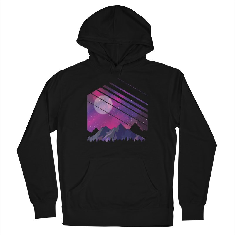 Mountain Galaxy Men's Pullover Hoody by Toxic Onion