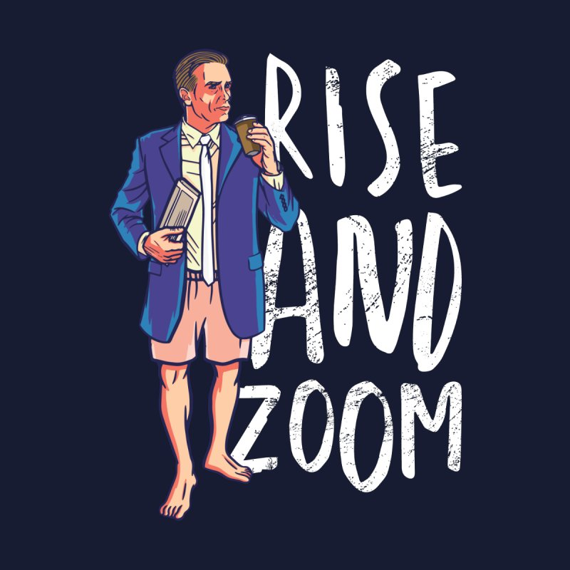 Rise And Zoom Men's T-Shirt by Toxic Onion