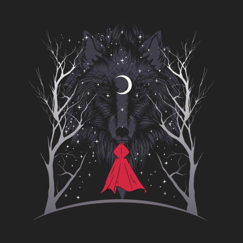 Red Hood Night Men's T-Shirt by Toxic Onion