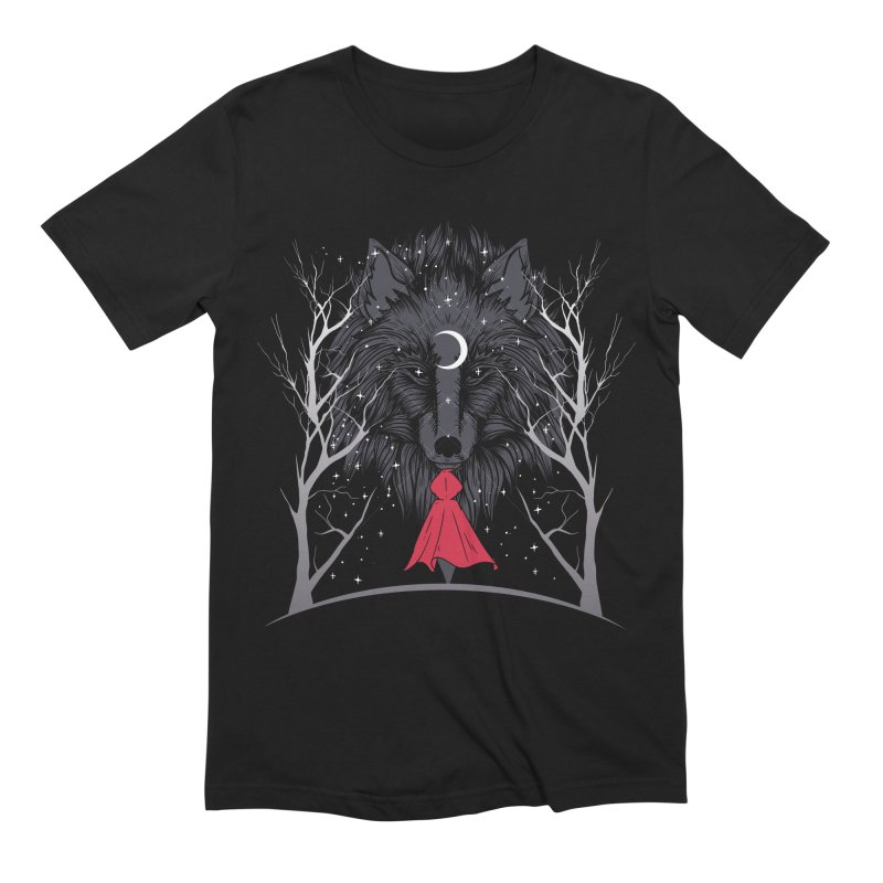 Red Hood Night Men's T-Shirt by Toxic Onion - A Popular Ventures Company