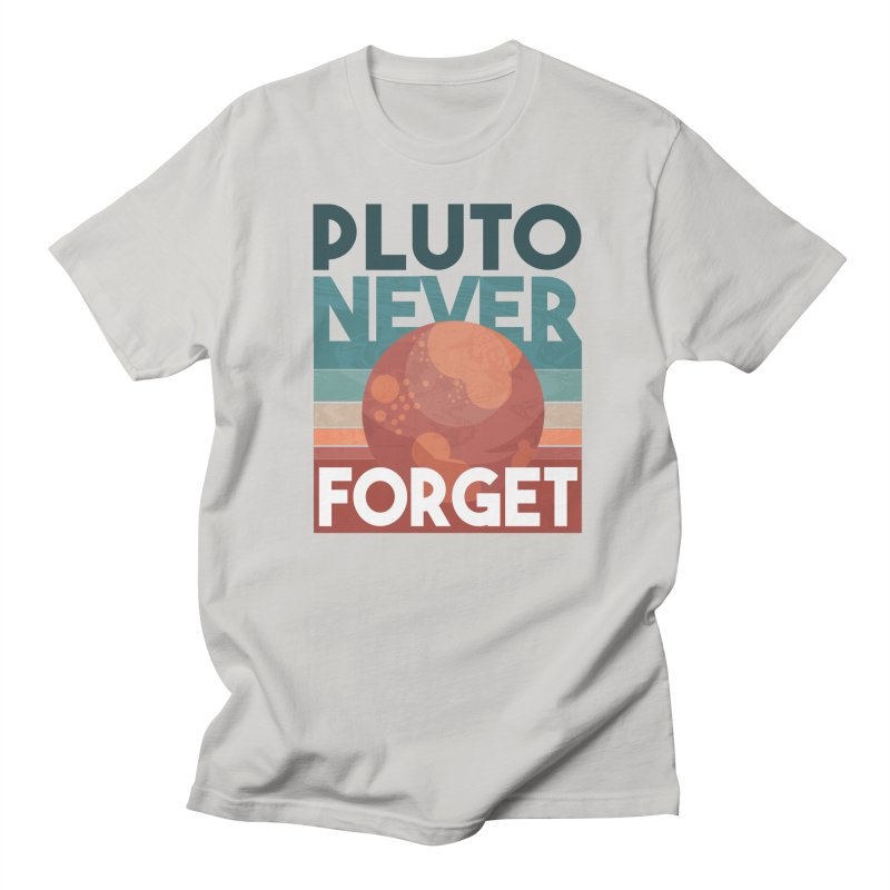 Pluto Never Forget Men's T-Shirt by Toxic Onion