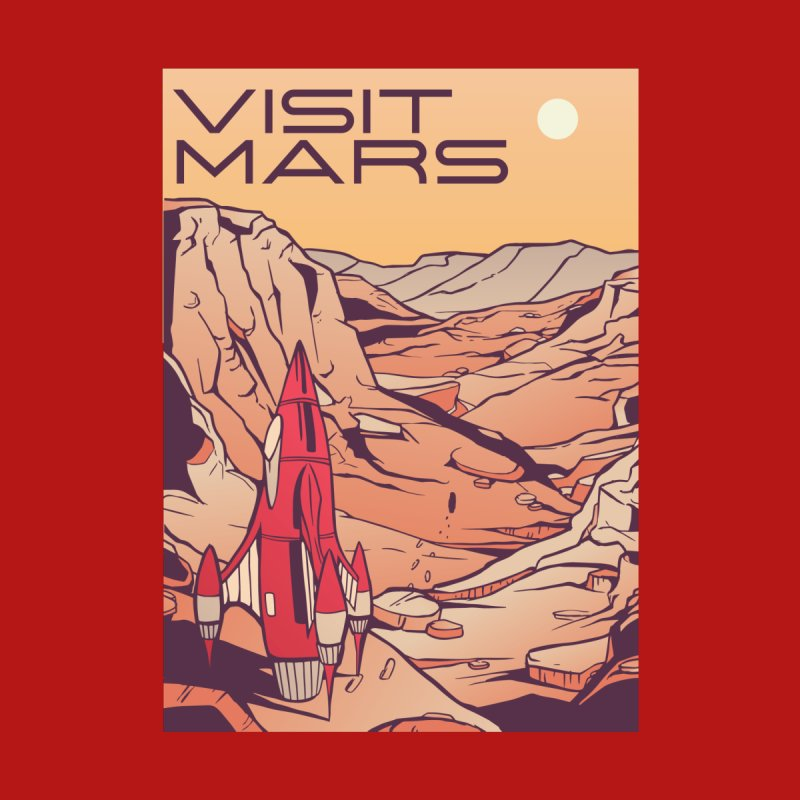 Visit Mars Accessories Face Mask by Toxic Onion