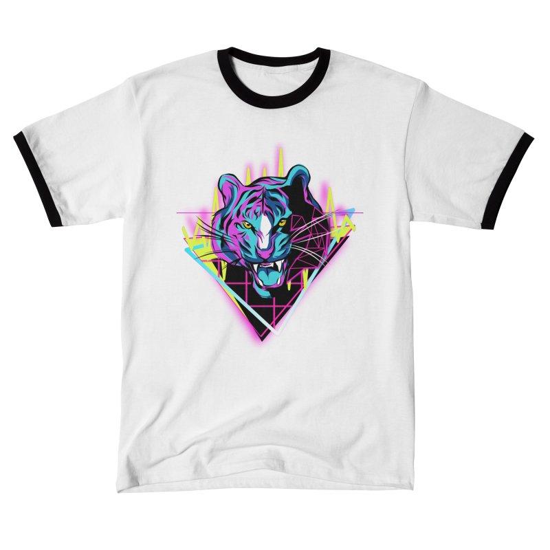 Neon Tiger Women's T-Shirt by Toxic Onion