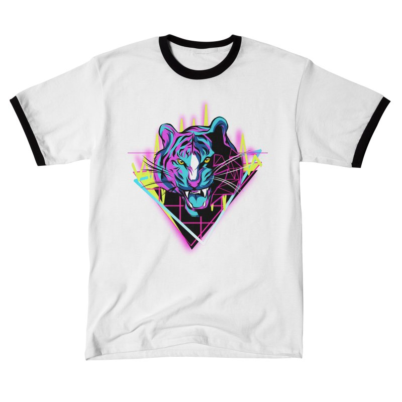 Neon Tiger Women's T-Shirt by Toxic Onion - A Popular Ventures Company