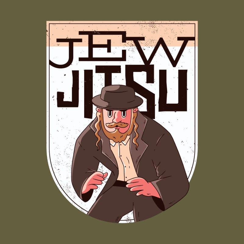 Jew Jitsu Men's Zip-Up Hoody by Toxic Onion