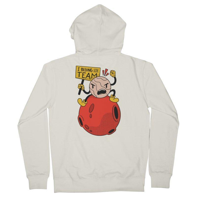 Pluto Did Nothing Wrong Men's Zip-Up Hoody by Toxic Onion