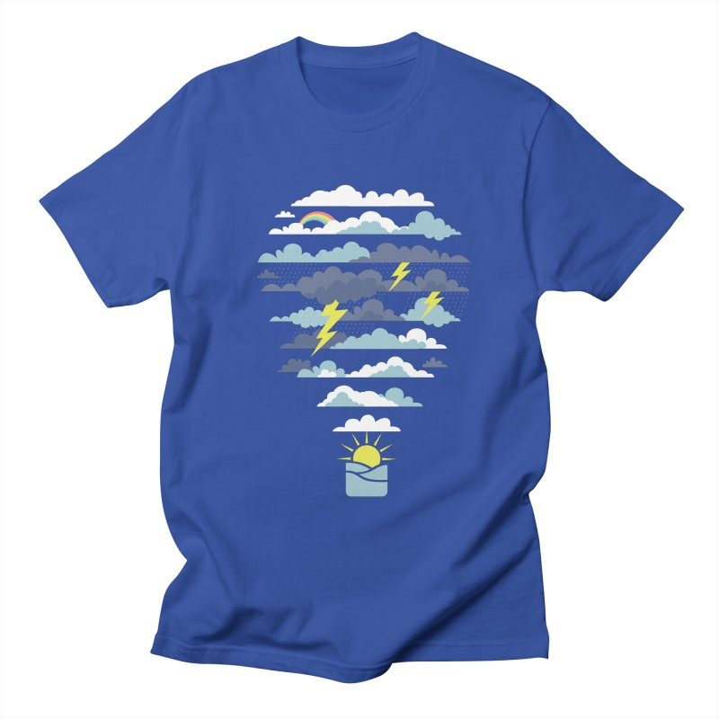 Hot Air Weather Balloon Men's T-Shirt by Toxic Onion