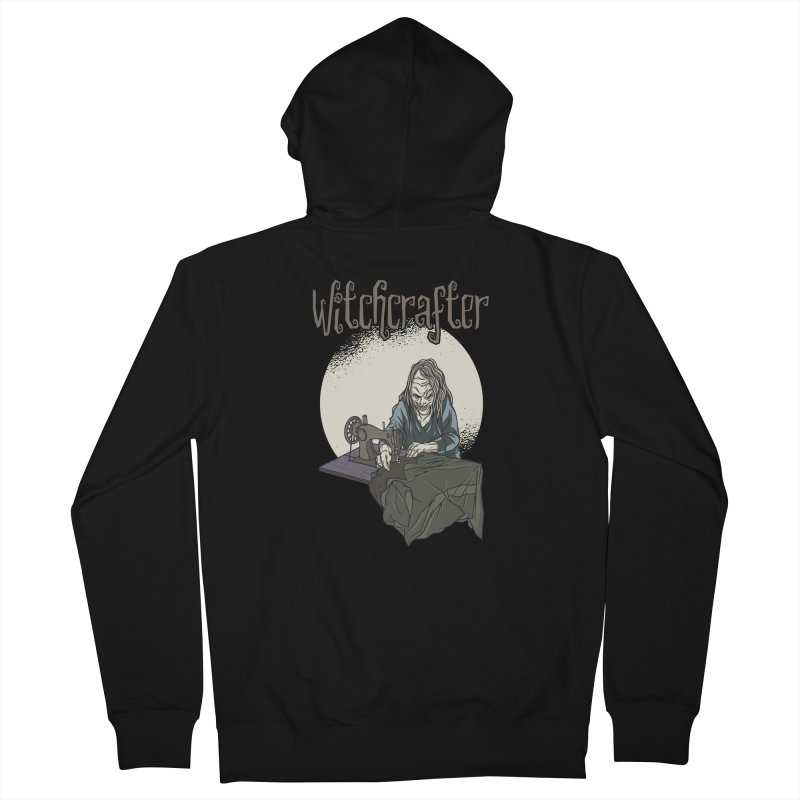 Witchcrafter Men's Zip-Up Hoody by Toxic Onion