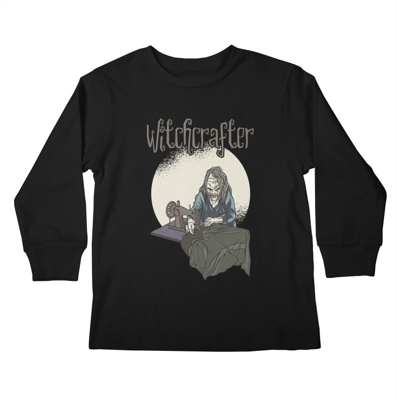 Witchcrafter Kids Longsleeve T-Shirt by Toxic Onion