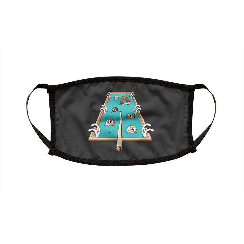Pool Games Accessories Face Mask by Toxic Onion