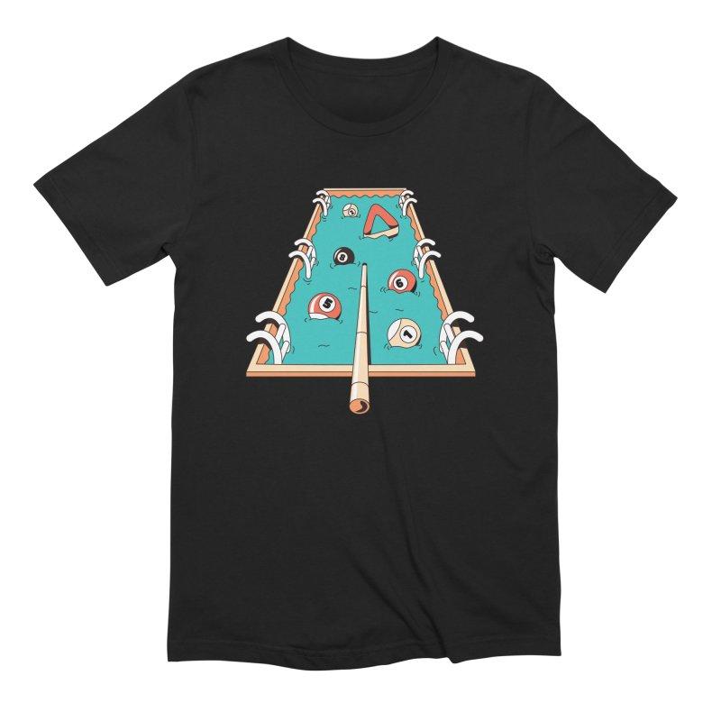 Pool Games Men's T-Shirt by Toxic Onion