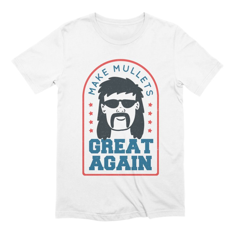 Make Mullets Great Again Men's T-Shirt by Toxic Onion