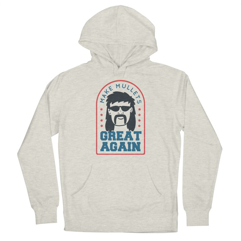 Make Mullets Great Again Men's Pullover Hoody by Toxic Onion