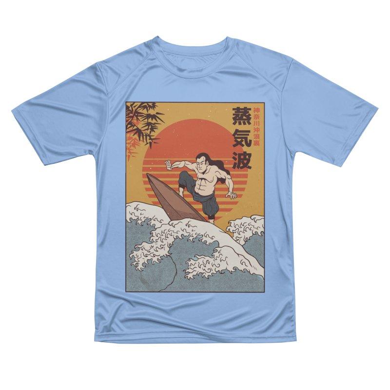 Surfing Samurai Women's T-Shirt by Toxic Onion