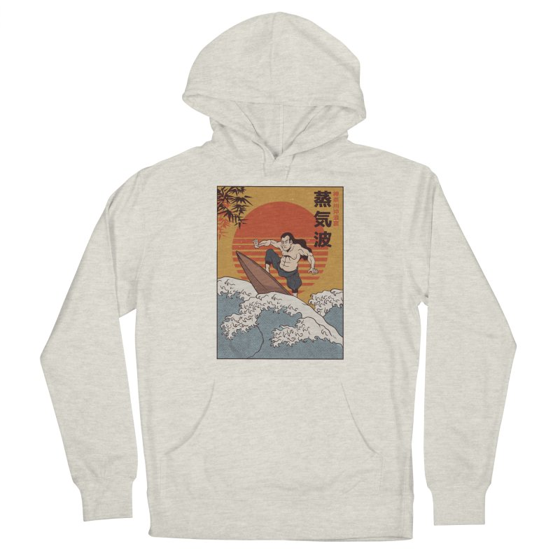 Surfing Samurai Men's Pullover Hoody by Toxic Onion