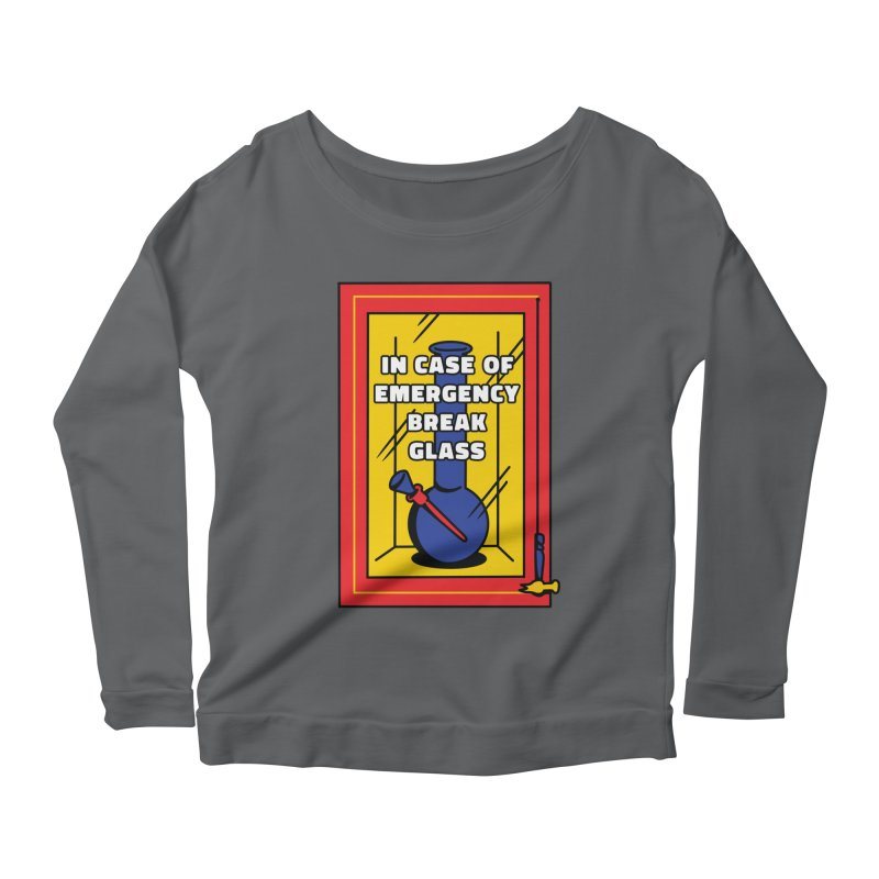Emergency Bong Women's Longsleeve T-Shirt by Toxic Onion