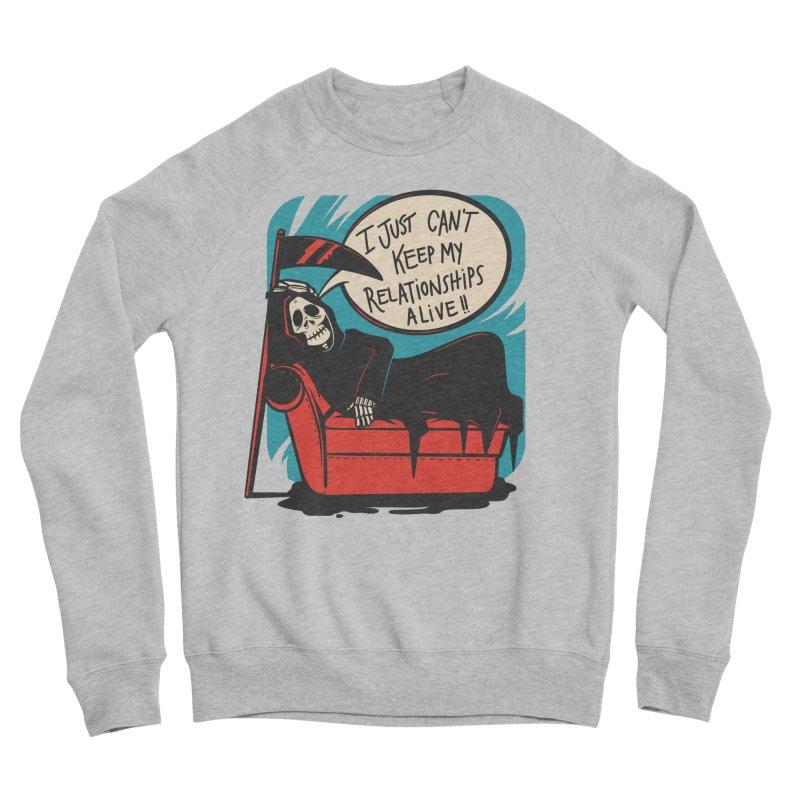 Grim Relationships Men's Sweatshirt by Toxic Onion