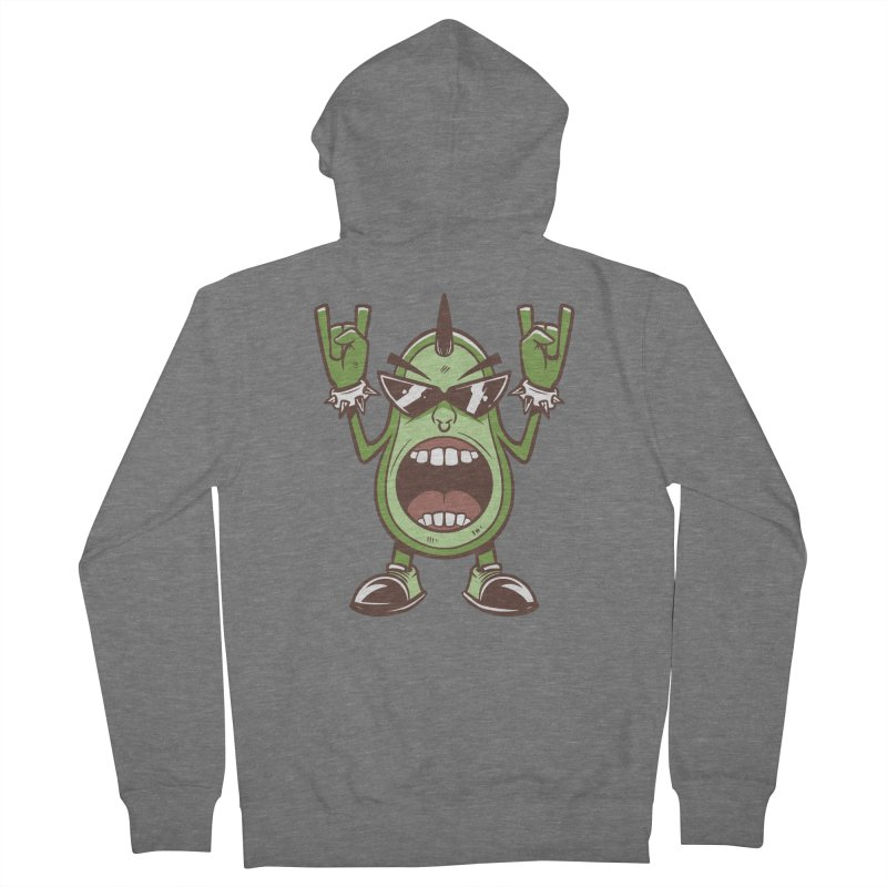 Guac On Men's Zip-Up Hoody by Toxic Onion
