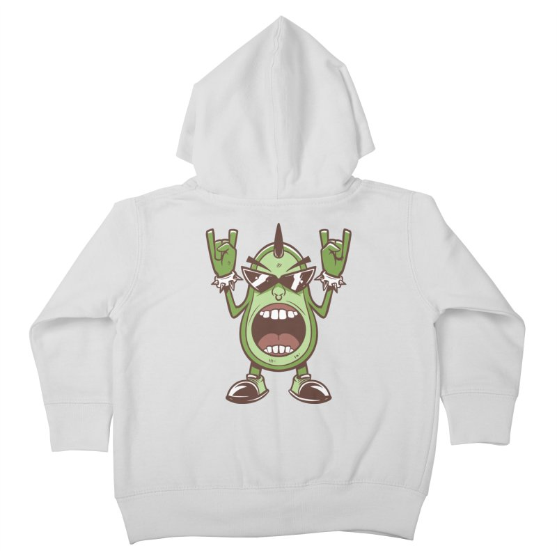 Guac On Kids Toddler Zip-Up Hoody by Toxic Onion