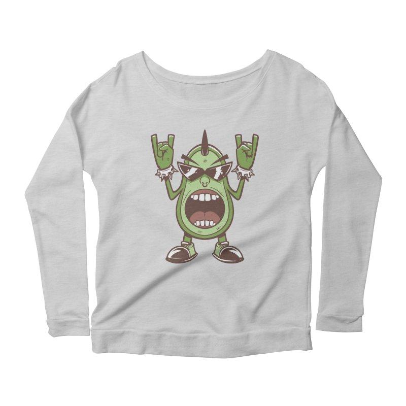 Guac On Women's Longsleeve T-Shirt by Toxic Onion