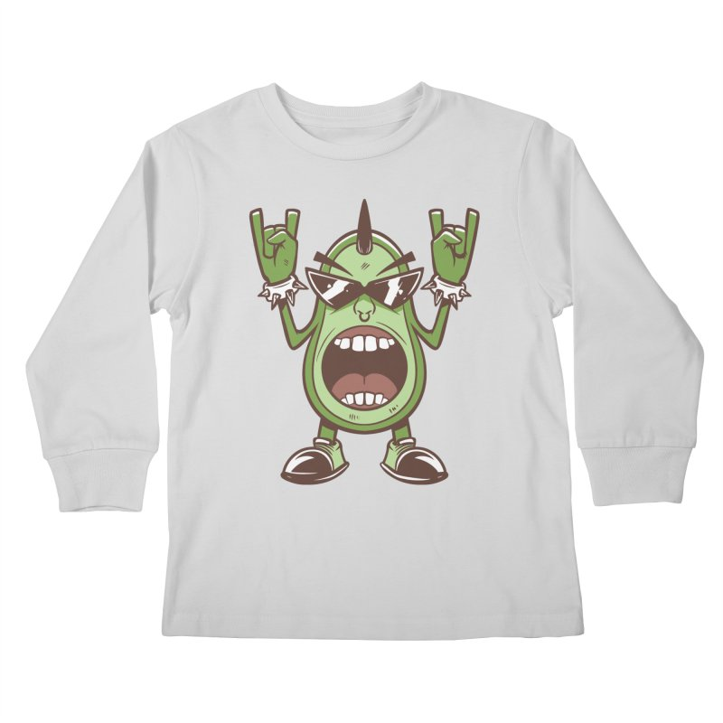 Guac On Kids Longsleeve T-Shirt by Toxic Onion