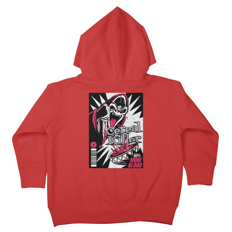 Cereal Killer Kids Toddler Zip-Up Hoody by Toxic Onion