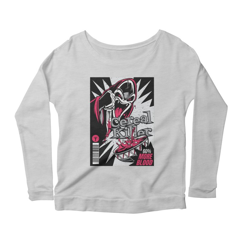 Cereal Killer Women's Longsleeve T-Shirt by Toxic Onion