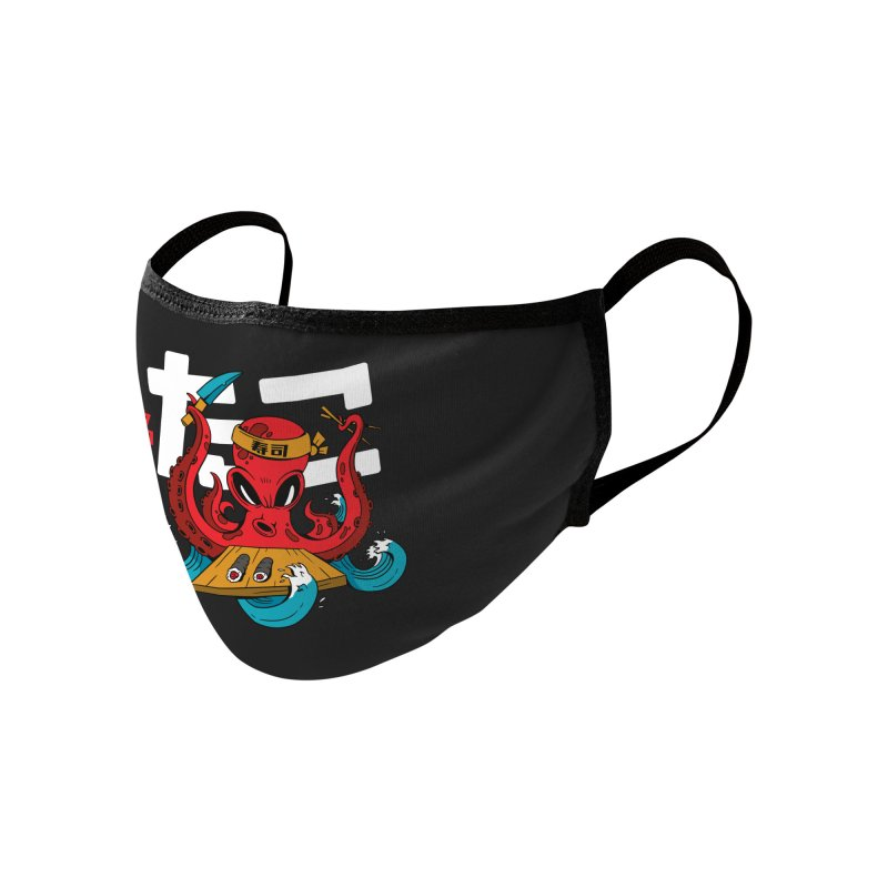Octopus Chef Accessories Face Mask by Toxic Onion