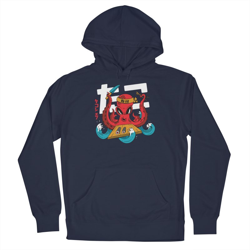 Octopus Chef Men's Pullover Hoody by Toxic Onion - Weird and Funny Stuff