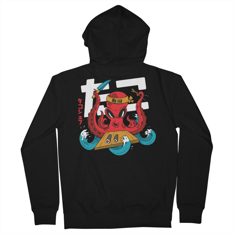 Octopus Chef Men's Zip-Up Hoody by Toxic Onion - A Popular Ventures Company
