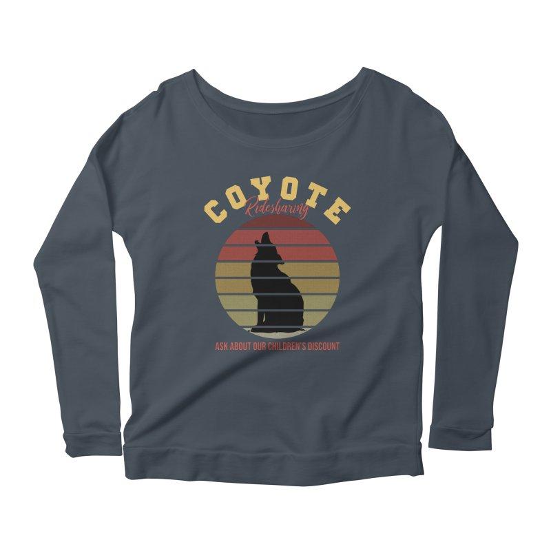 Coyote Ridesharing Women's Longsleeve T-Shirt by Toxic Onion