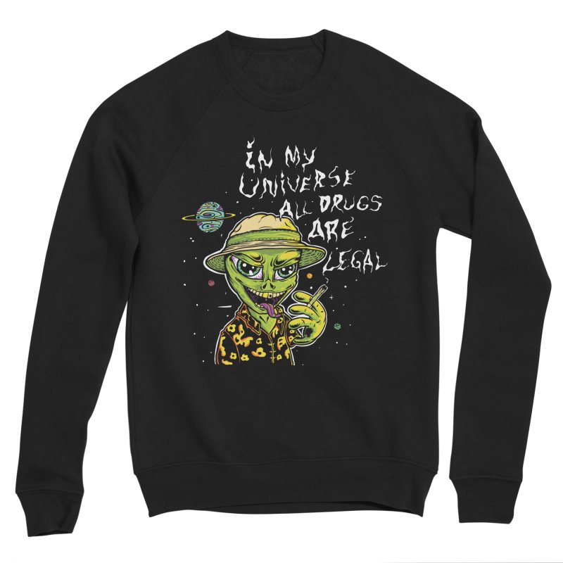 In My Universe Men's Sweatshirt by Toxic Onion