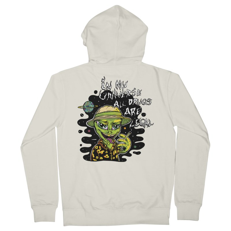 In My Universe Men's Zip-Up Hoody by Toxic Onion