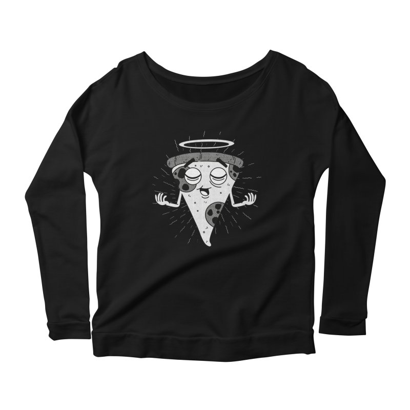 Sacred Pizza Women's Longsleeve T-Shirt by Toxic Onion