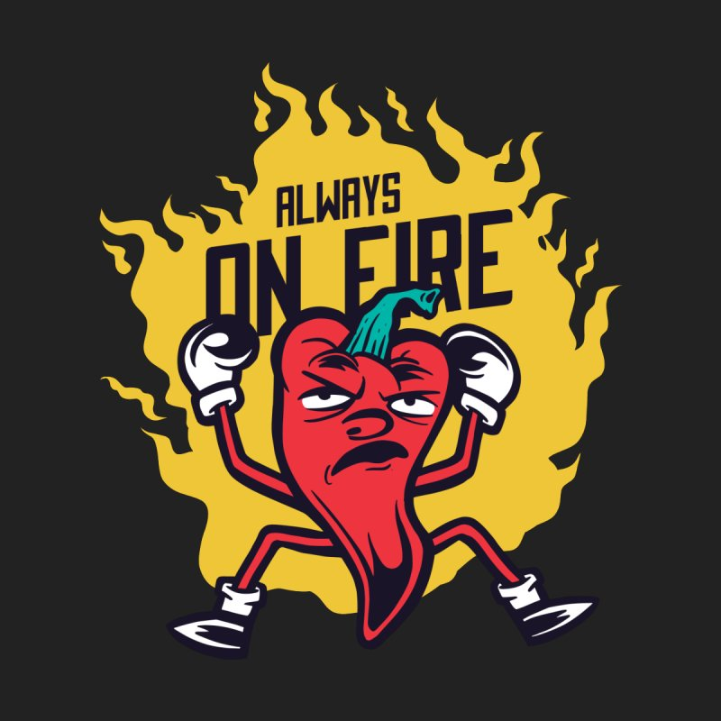 Always On Fire Men's T-Shirt by Toxic Onion