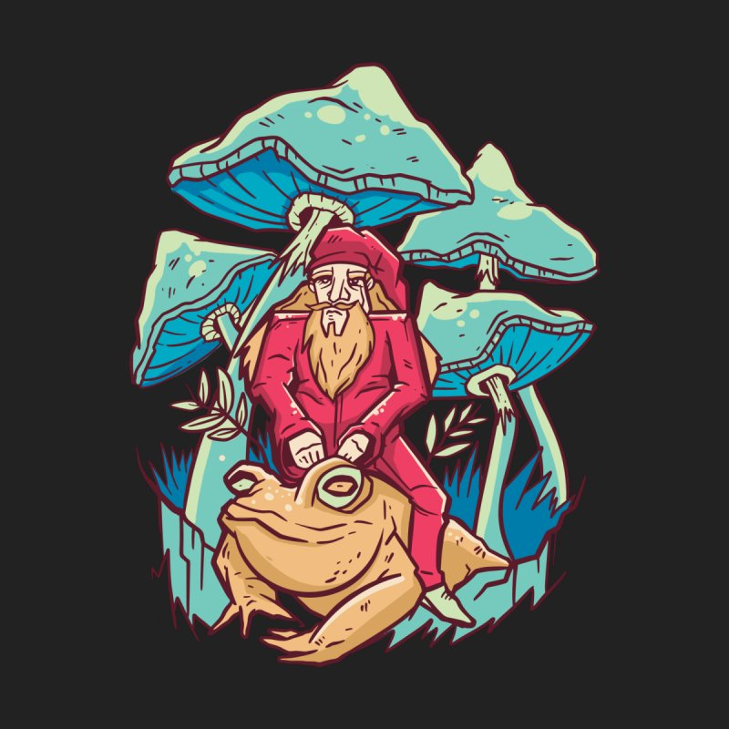 Psychedelic Wizard Men's T-Shirt by Toxic Onion - A Popular Ventures Company