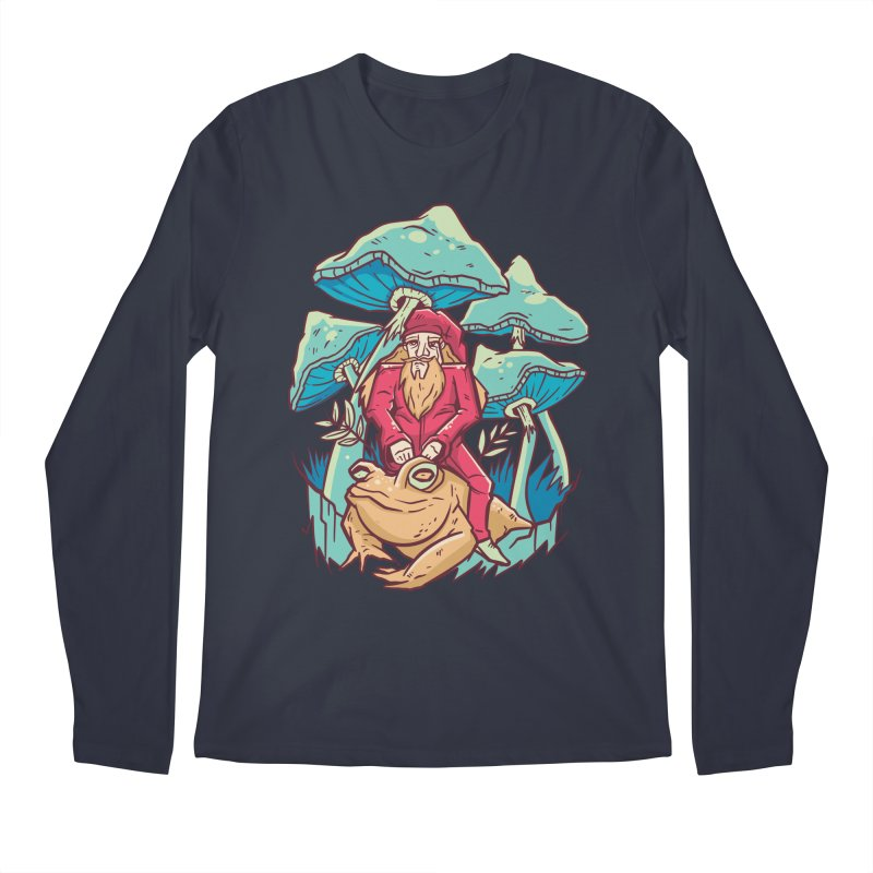Psychedelic Wizard Men's Longsleeve T-Shirt by Toxic Onion - A Popular Ventures Company