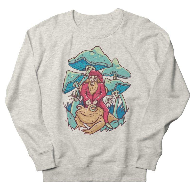 Psychedelic Wizard Men's Sweatshirt by Toxic Onion - A Popular Ventures Company